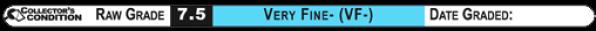 7.5 VERY FINE- (VF-): Raw Grade Label