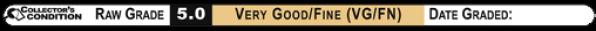 5.0 VERY GOOD/FINE (VG/FN): Raw Grade Labels
